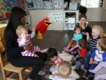 Teaching with puppets
