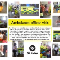 Ambulance Officer Visit