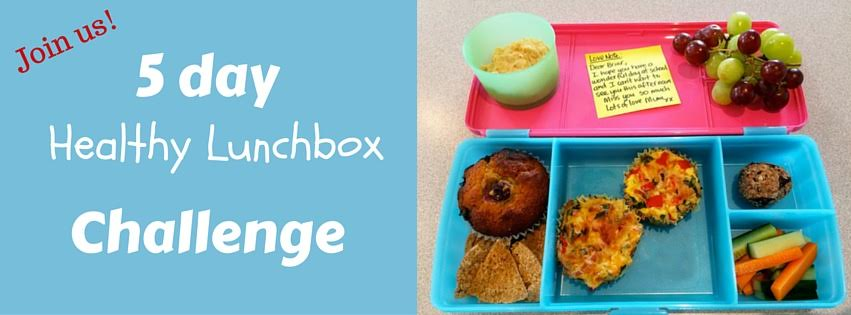 5-day Healthy Lunchbox Challenge